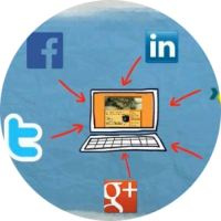 Social Media Marketing Rundlogo