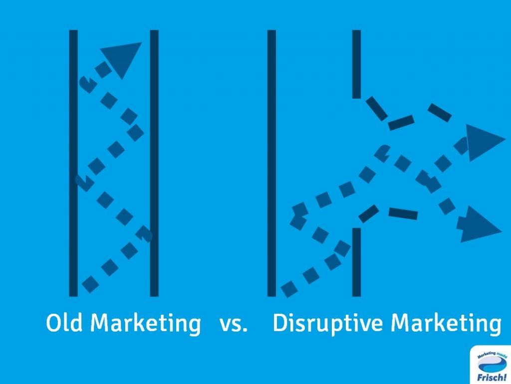Disruptives Marketing durchbricht überkommene Denkmuster