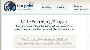 Unternehmer, zieht die Köpfe ein, The Point kommt…!