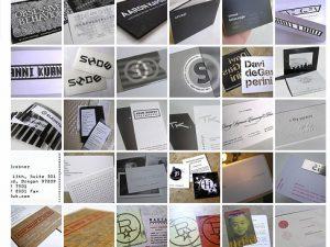 584 Ideen für Visitenkarten