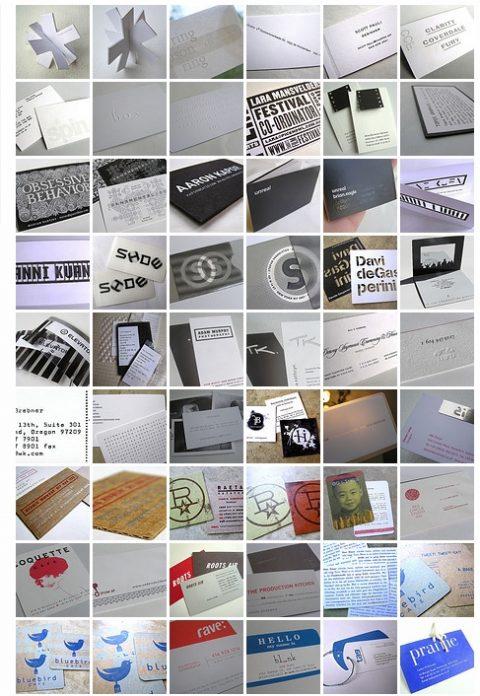 584 Beispiele für Visitenkarten: Guerilla-Marketing