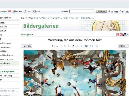 Bilderschau: Kreative Werbung