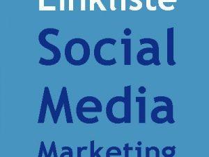 Linkliste Social Media Marketing