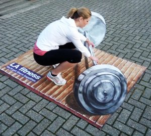 street art als Methode des Guerilla-Marketings